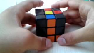 Rubik küp başlangıç yöntemi part 3