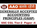 ACCOUNTING FOR AAO- 2 / GENERALLY ACCEPTED ACCOUNTING PRINCIPLE ( GAAP )