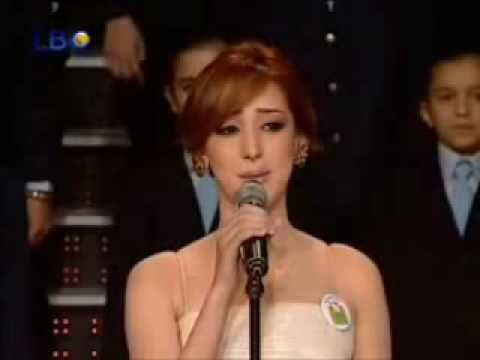 Star Academy 6 LBC ( Lebanon ) Prime 14 - Bassma Sings For Cancer