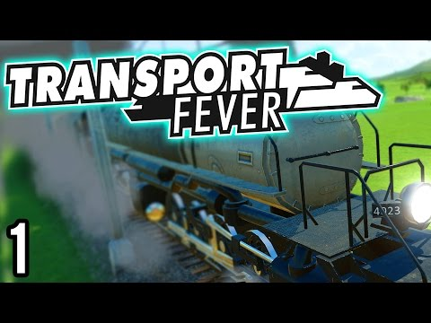 Transport Fever | Quick Look and Basic Guide (Transport Fever Gameplay Part 1)