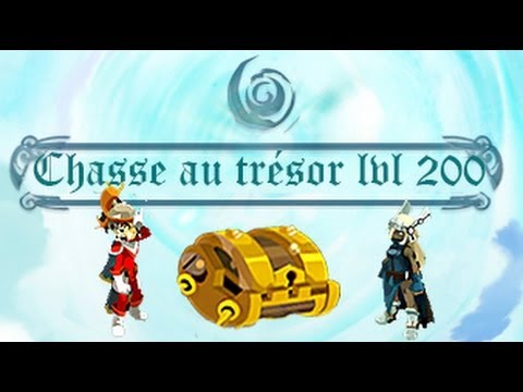 Dofus : Maj 2.19 - Dimension divine: Chasse au trésor lvl 200 - YouTube