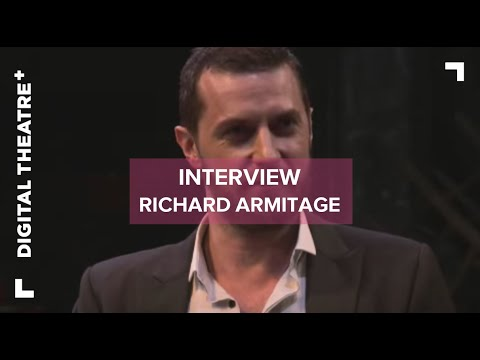 Richard Armitage Interview - The Crucible | Digital Theatre+