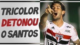 São Paulo 3x2 Santos - RECADO para JEAN MOTA e PÓS JOGO