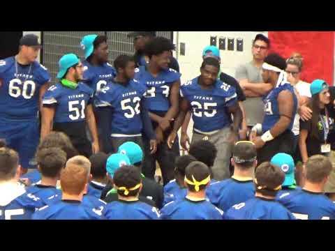 Warren Woods Tower High School Warren MI PEP RALLY BAND 32