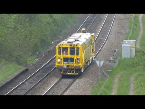 Track Plant Stone blower 80206, Alton-Gloucester passing Horfield, Bristol 16-05-13