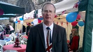 Stafford MP Jeremy Lefroy's jubilee message to the Queen