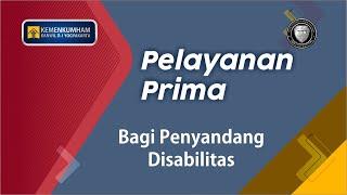 Launching Unit Layanan Disabilitas Kantor Wilayah Kemenkumham Daerah Istimewa Yogyakarta