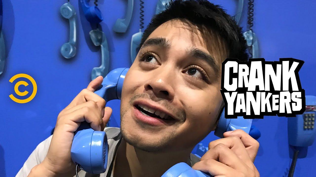 Jordan Mendoza Unleashes His Inner Crank Yanker at Comic-Con
