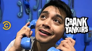 Jordan Mendoza Unleashes His Inner Crank Yanker at Comic-Con