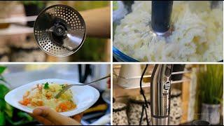 بنصف صدر دجاج و حبات بطاطا ،عملت أطيب طبق في الفرن ،بنتو مميزة😋و استعملت روبو مميز هو تاني👍