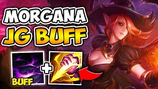 WTF?! MORGANA JUNGLE HAS GOD TIER CLEAR! W BUFF JUST BROKE THE GAME - League of Legends