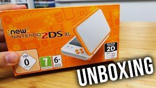 NEW NINTENDO 2DS XL UNBOXING - Best DS Yet ??? Size Comparison 3DS vs 2DS vs Switch