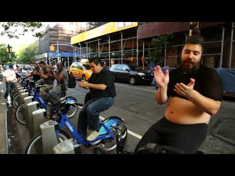 The Fat Jew Teaches Spin Classes on CitiBikes