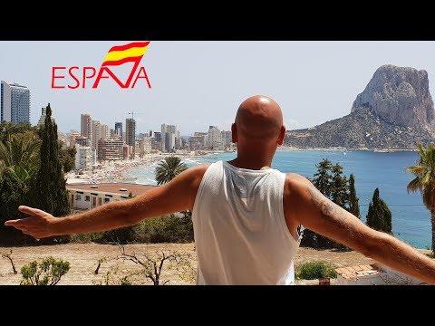 ????Безумно красивый город Кальп в Испании. Едем из Аликанте в Валенсию пляжи море дома квартиры цен