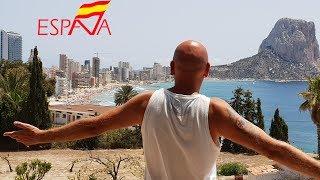 ????Безумно красивый город Кальп в Испании. Едем из Аликанте в Валенсию пляжи море дома квартиры цены