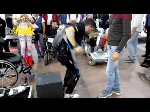 Esoscheletro ReWalk - Intervista a Carmine Consalvi