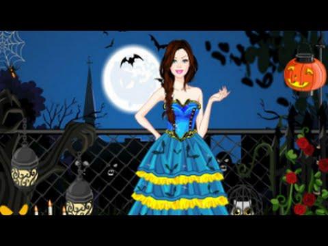 Barbie Halloween Dress Up Juegos De Vestir Kids Games