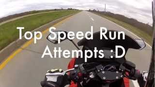 Ninja 650R Top Speed Run Attempts.mp4