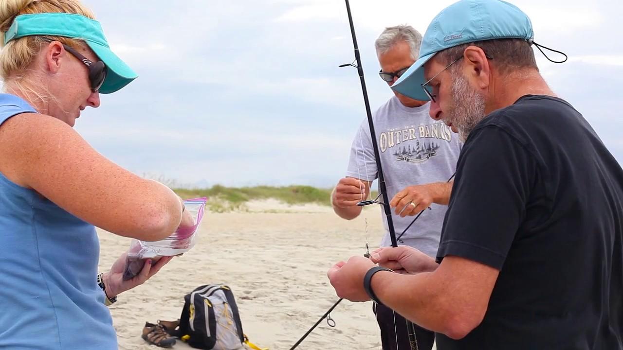 Go Local - Surf Fishing with the North Carolina Aquarium at Fort Fisher -  Kure Beach NC