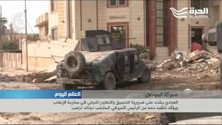 وحدة مكافحة الارهاب تدمر مركز قيادة لداعش في شرقي الموصل