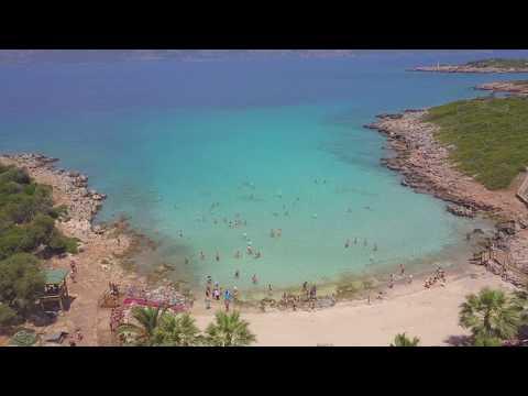 Остров Клеопатры (Седир) с квадрокоптера 4K
