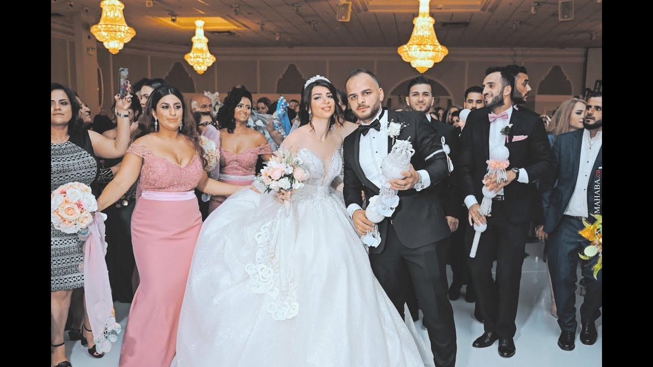 Ramsen Sheno Live 2020 Roni Shireen S Assyrian Wedding Entrance Youtube