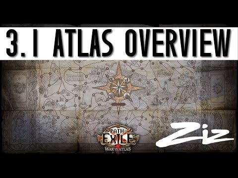 Path of Exile - 3.1 Atlas Overview - Zizaran's approach to the atlas