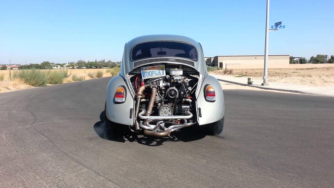 Vw Bug Turbo Kit : Turbo cc vw bug psi msd step youtube