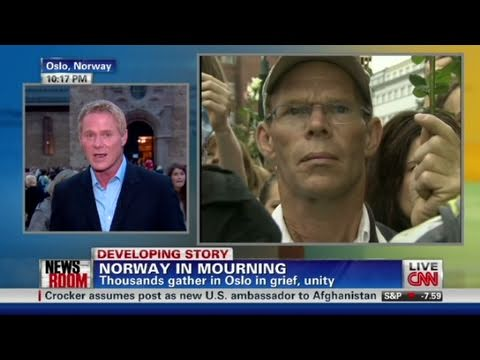 CNN: Thousands gather in grief in Norway