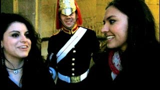 Repeat youtube video Making A Royal Guard Smile!