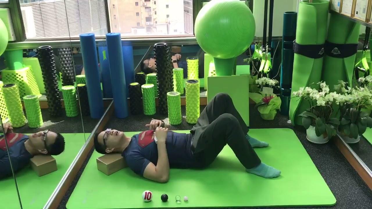 OneYeung自療-如何改善寒背? 用鬆筋球深層放鬆肩頸