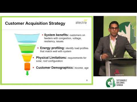 "2017 Green Building Festival: Vikram Singh, Alectra Inc. ""Carbon Killers"" Plenary"