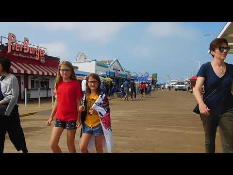 Santa Monica Pier Part 1
