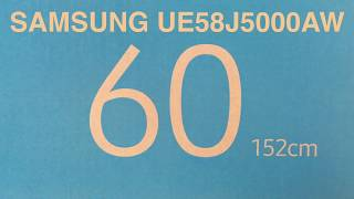 SAMSUNG UE58J5000AW  SMART TV