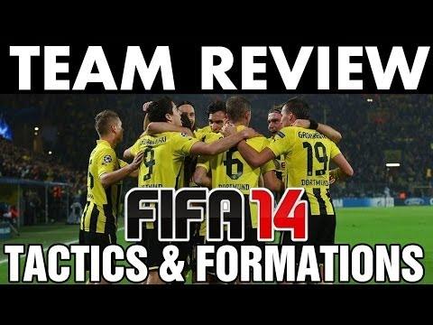 FIFA 14   Team Review   Borussia Dortmund (BVB) Tactics / Formations (H2H Season) Best Full Guide