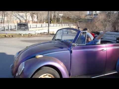 67 VW Convertible Driven