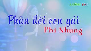 Phận đời con gái - Phi Nhung | Lyrics thumbnail