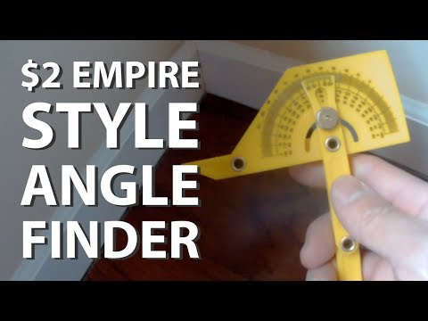 Yellow Plastic Angle Finder - Empire Knockoff (eBay)