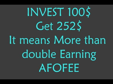How to join in afofee, Complete Task, Purchase e code and Payout Procedure