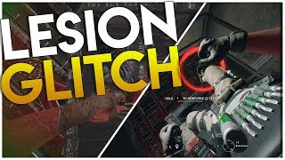 (OP) LESION TRAP UNDER REINFORCEMENT GLITCH!!! - UN-BREAKABLE LESION TRAPS (Rainbow Six Siege)