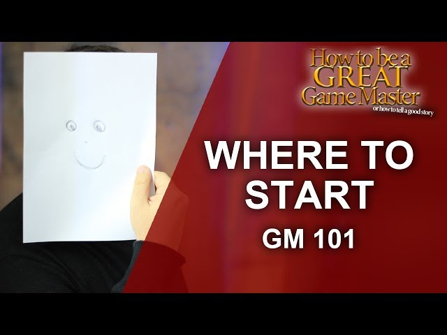 Great GM - Game Mastering 101 - How to Begin/ start game mastering tabletop rpg sessions - GM Tips