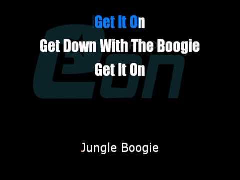 Kool & the gang Jungle boogie cori Eon karaoke demo