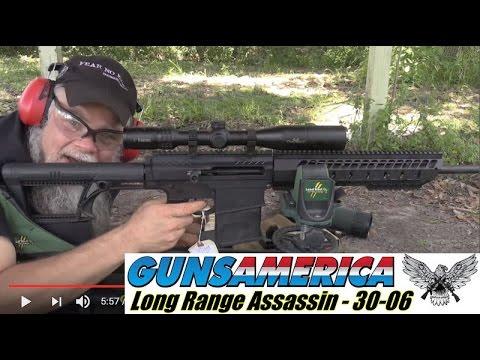 long range 30 06 semi auto assassin the noreen bn36 ar 15 youtube