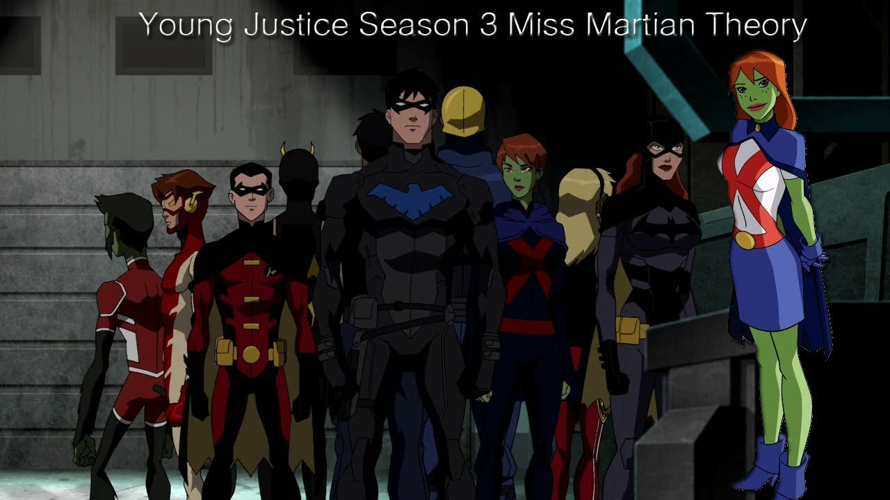 Where is Miss Martian in Young Justice Season 3? Theory ...