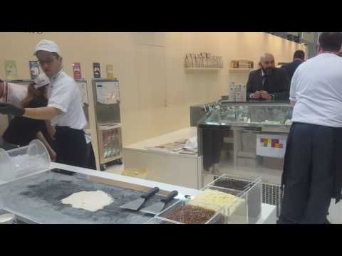 IRCA JOY GELATO DEMO at Sigep 2017