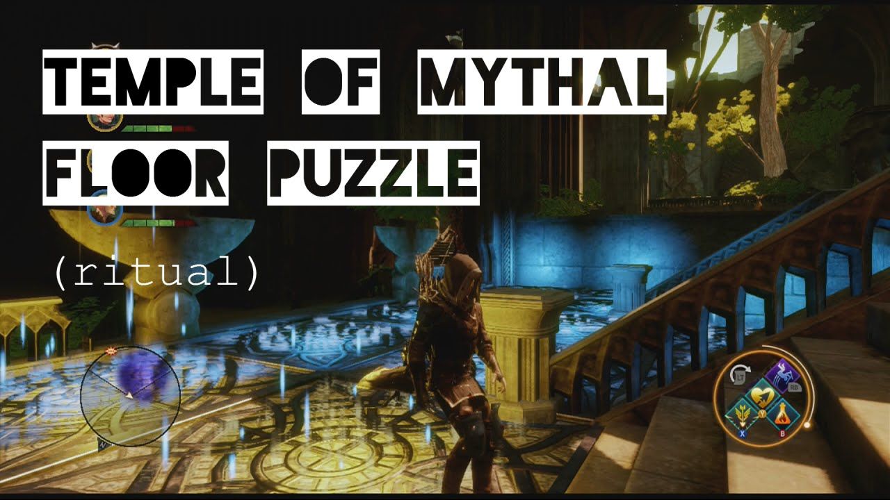 Dragon Age Inquisition Solve Temple Of Mythal Floor