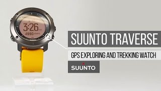 Suunto Traverse Watch - Explore & Trek with Confidence