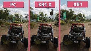 [4K] Forza Horizon 3 – PC vs. Xbox One X vs. Xbox One Frame Rate Test & Graphics Comparison
