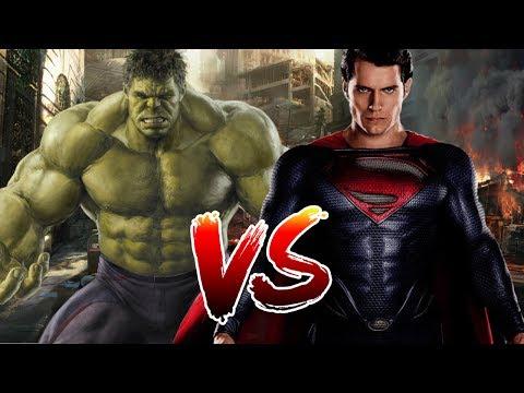 Superman VS Hulk   Who Wins?