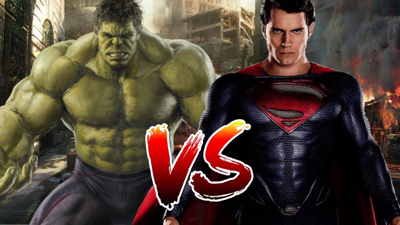 Download Superman VS Hulk | Who Wins?